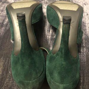 Nine West Shoes - Nine West Forest Green Florent Pump